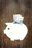 Savings pieniądze w Rosyjskich rublach Zdjęcie Stock