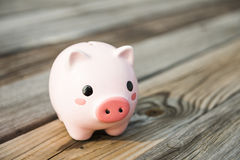 Savings, piggy banks Royalty Free Stock Photo