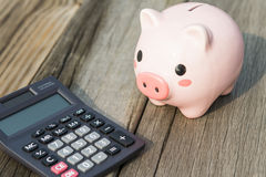 Savings, piggy banks Stock Image