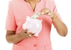 Savings Plan Royalty Free Stock Photography
