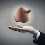 Savings plan made simple Royalty Free Stock Images