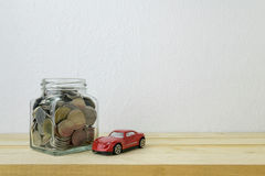 Savings plans for car Stock Photography
