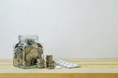 Savings plany dla opieki zdrowotnej i medycyny, Fotografia Stock