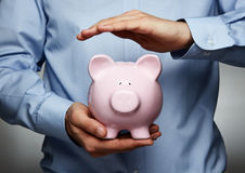 Savings protection Royalty Free Stock Photo