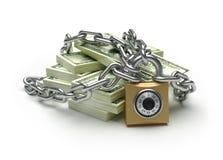 Savings protection Royalty Free Stock Image