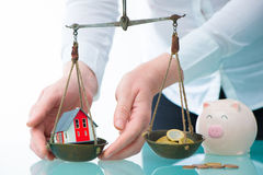 Savings or real estate investment concept Stock Photo