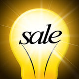Savings Sale Indicates Clearance Wealthy And Increase Royalty Free Stock Images