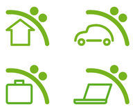 Savings symbols Stock Images