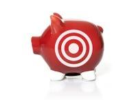 Savings on target Royalty Free Stock Image