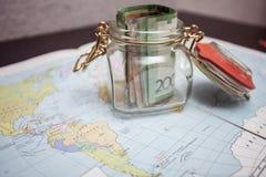 Savings on travel Royalty Free Stock Photos