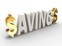Savings V2 Royalty Free Stock Images