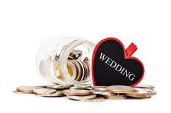 Savings Wedding. Financial Conceptual. Royalty Free Stock Photo