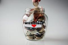 Savings for wedding Stock Photos