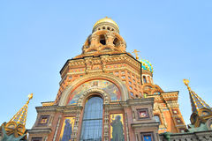Savior στον καθεδρικό ναό αίματος Στοκ Εικόνες