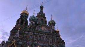 Savior στον καθεδρικό ναό Αγία Πετρούπολη αίματος φιλμ μικρού μήκους