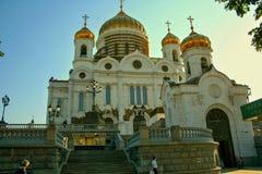 savior Χριστού καθεδρικών ναών Στοκ Φωτογραφίες