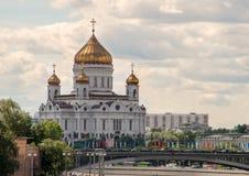 savior Χριστού καθεδρικών ναών Στοκ Εικόνα