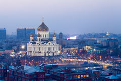savior Χριστού Μόσχα καθεδρικών ναών Στοκ Εικόνες