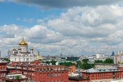 savior Χριστού Μόσχα Ρωσία καθεδρικών ναών Στοκ Εικόνα