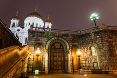 savior Χριστού Μόσχα Ρωσία καθεδρικών ναών Η αίθουσα των Συμβουλίων εκκλησιών Στοκ Εικόνα