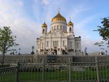 savior Χριστού Μόσχα Ρωσία καθεδρικών ναών Στοκ εικόνα με δικαίωμα ελεύθερης χρήσης