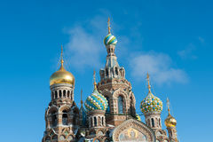 The Savior on the Blood church Saint Petersburg, Russia Stock Photography