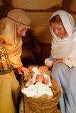 Savior born Stock Images