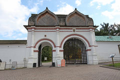 Savior Gate in Kolomenskoye, Moscow Stock Image