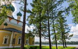 Savior`s Transfiguration Cathedral of the 18th century in Uglich, Russia Royalty Free Stock Photos