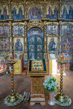 Savior`s Transfiguration Cathedral of the 18th century in Uglich, Russia Royalty Free Stock Photography