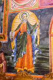 Savior to Peter frescoes Troyan Monastery in Bulgaria royalty free stock photo