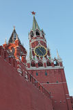 Savior Tower, Red Square, Moscow Stock Photography
