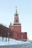 Savior Tower, Red Square, Moscow Stock Images