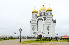 Savior Transfiguration Cathedral, Mogilev, Belarus. Savior Transfiguration Cathedral in city of Mogilev, Belarus royalty free stock images