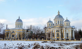 Savior Transfiguration Cathedral in Torzhok, winter time Stock Photos