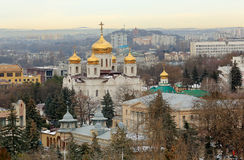 Saviour Cathedral in the city of Pyatigorsk, Stavropol Krai, Rus Stock Photo