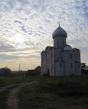 The Saviour Church on Nereditsa Royalty Free Stock Images