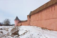 Saviour-Euthimiev monastery-fortress Stock Photos