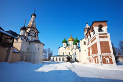 Saviour-Euthimiev monastery  at Suzdal Royalty Free Stock Photo