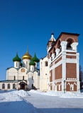 Saviour-Euthimiev monastery  at Suzdal in winter Stock Photo