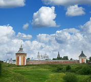 Saviour Monastery Prilutsky in Vologda Royalty Free Stock Photo