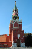 The Saviours (Spasskaya) Tower, Kremlin, Moscow, Russia Royalty Free Stock Photo