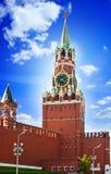 The Saviour (Spasskaya) Tower of Moscow Kremlin. Russia Royalty Free Stock Photos