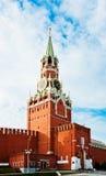 The Saviour (Spasskaya) Tower of Moscow Kremlin,. Russia Royalty Free Stock Photos