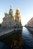 Saviour on Spilled Blood Royalty Free Stock Photography