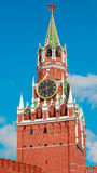 Saviour tower. Moscow Kremlin. Russia Stock Images