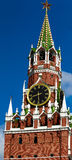 Saviour tower. Moscow Kremlin. Russia Royalty Free Stock Images
