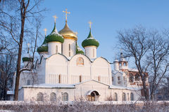 Saviour-Transfiguration Cathedral. Royalty Free Stock Images