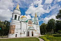 The Saviour-Transfiguration Cathedral of Chernihiv Royalty Free Stock Images