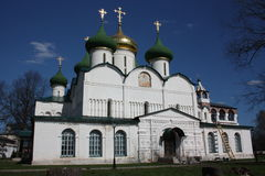 Saviour Transfiguration Cathedral in the Holy Efimiev Monastery. Russia, Suzdal. Stock Image